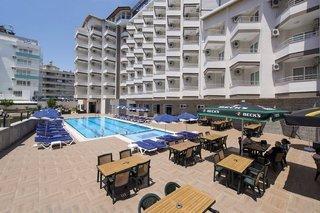 Alanya im Grand Atilla Hotel - Türkische Riviera