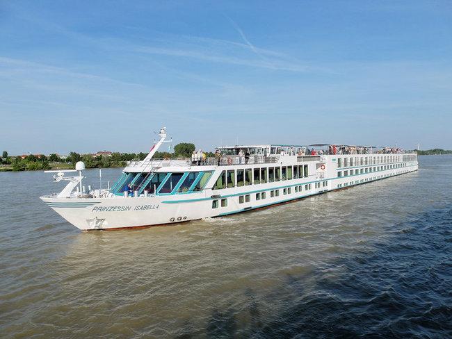 Winterliche Donau - MS Prinzessin Isabella - Bild 1