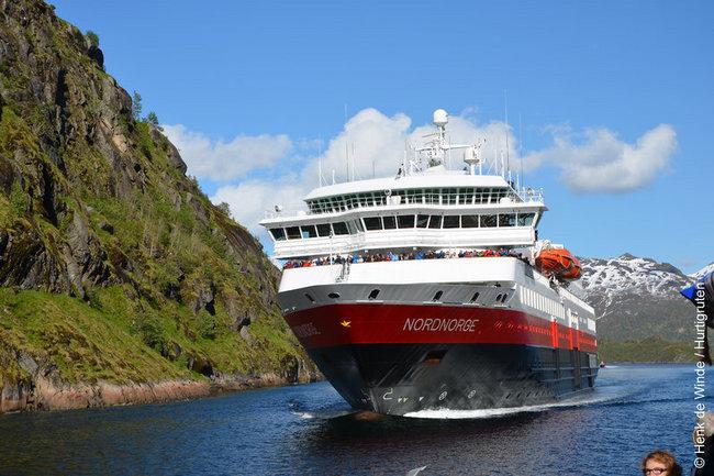 MS Nordnorge - Klassische Postschiffroute - Bergen - Kirkenes - Bergen - Bild 1