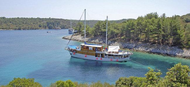 Kreuzfahrt - Motorsegler/-yacht: Kroatien ab/bis Trogir - Bild 1