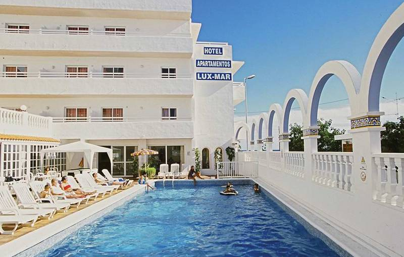 Aparthotel Lux Mar und Apartamentos Panoramic und  Apartamentos Tropical Garden